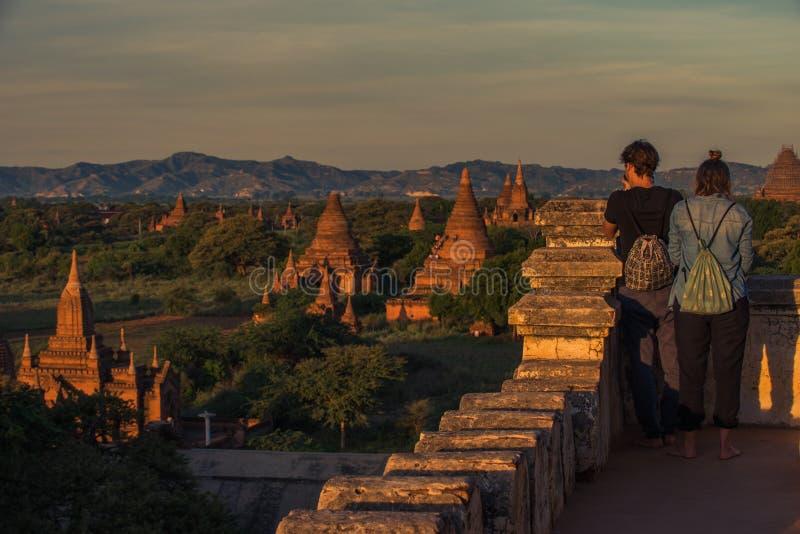 Bagan, Myanmar stock foto
