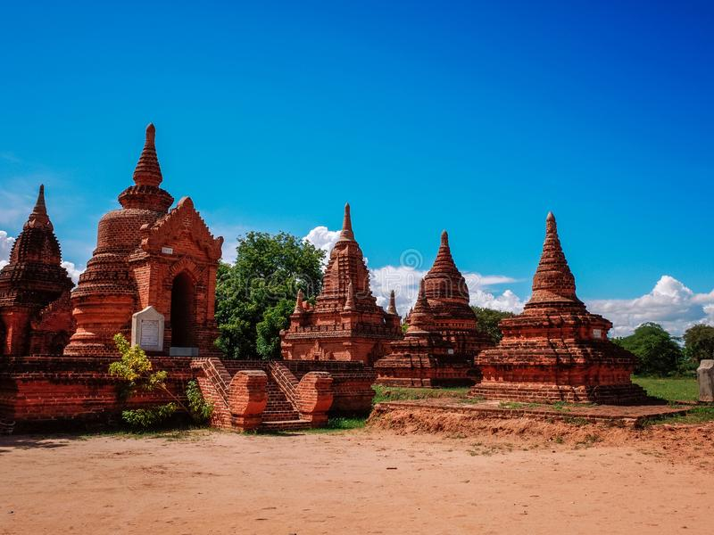 bagan Myanmar zdjęcia royalty free