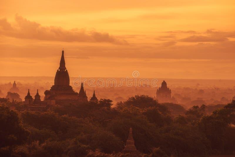 Bagan, Myanmar images libres de droits