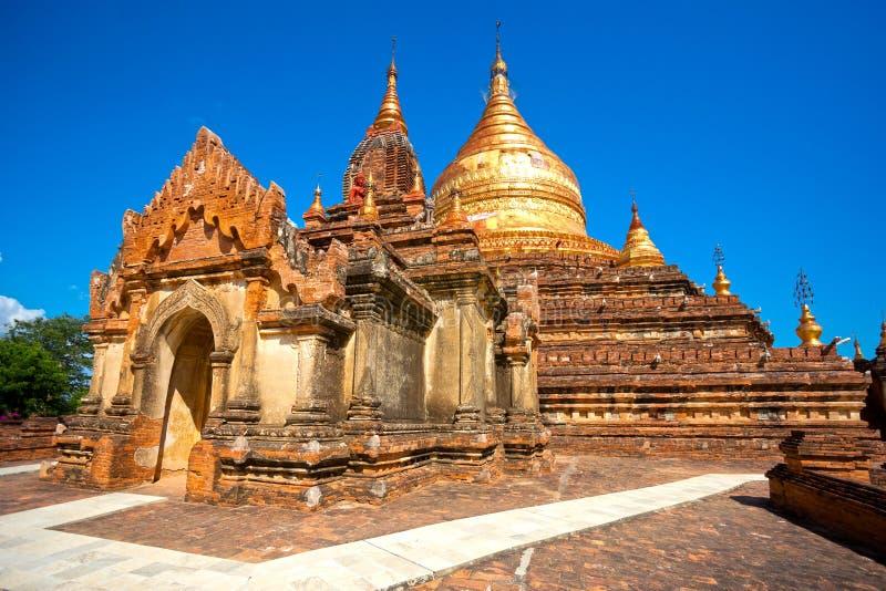 Download Bagan, Myanmar. zdjęcie stock. Obraz złożonej z złoto - 28950142