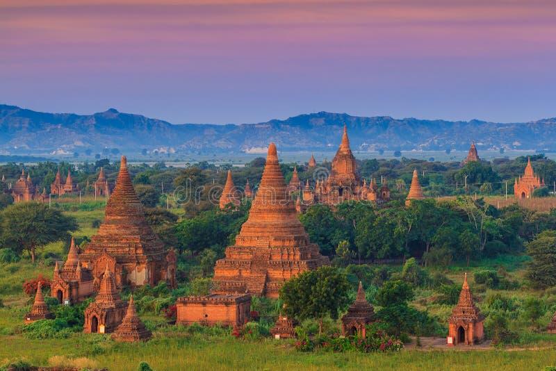 Bagan Myanmar fotografia de stock
