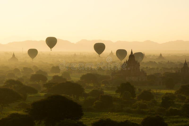 Bagan Myanmar royalty-vrije stock foto's