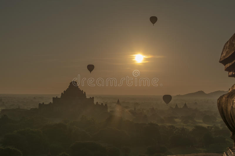 Bagan Myanmar photographie stock libre de droits