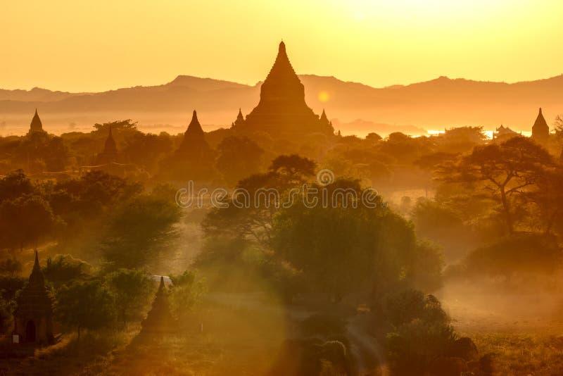Bagan, Myanmar photos libres de droits