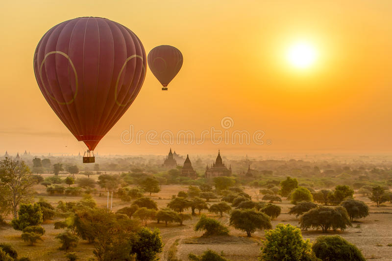 Bagan, Myanmar royalty free stock images