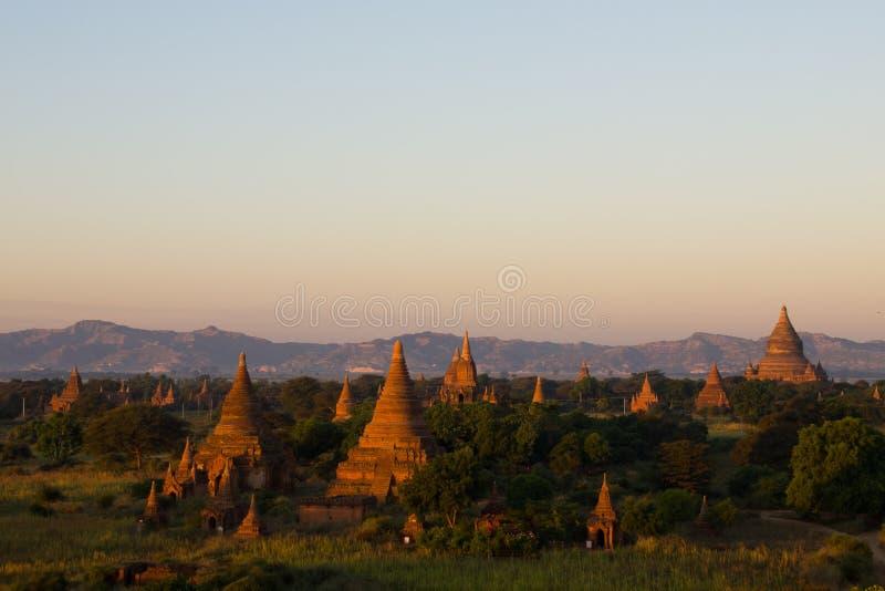 Bagan oude stad stock foto's