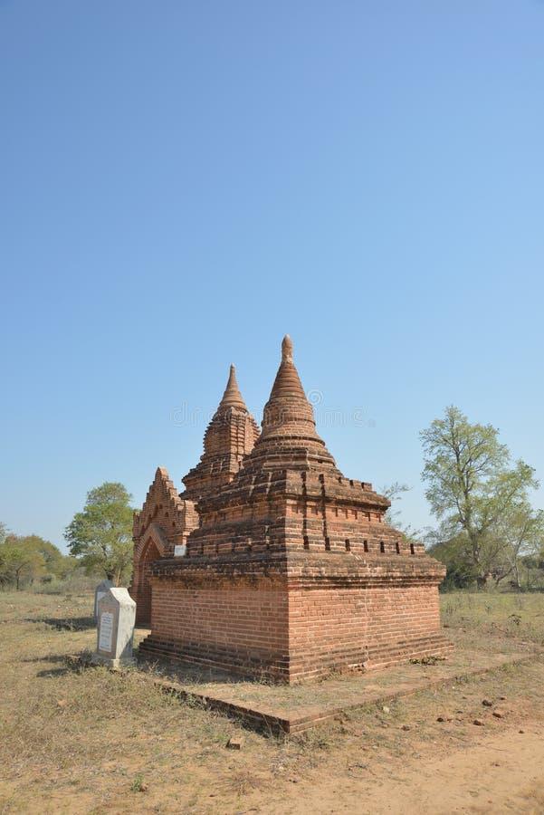 Bagan Pagoda torn arkivbild