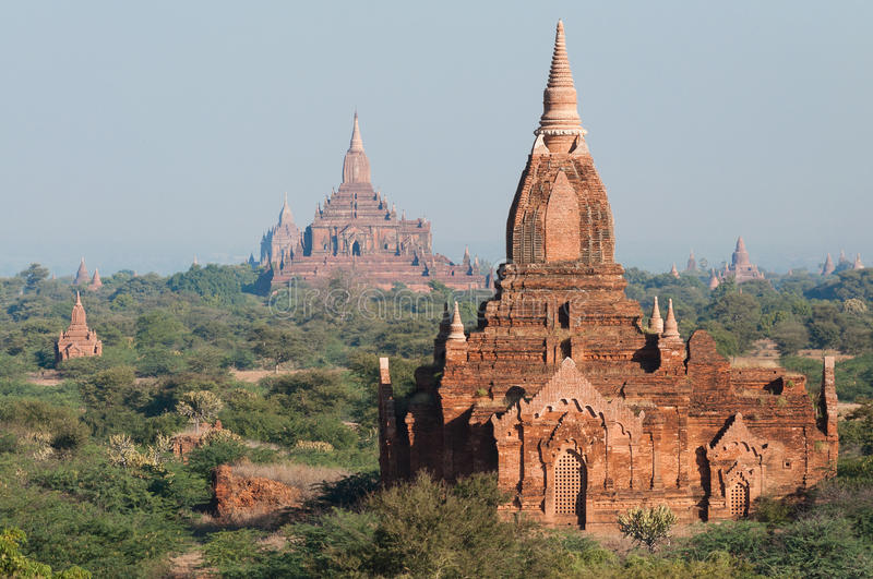 Bagan Pagodas Royalty Free Stock Photos