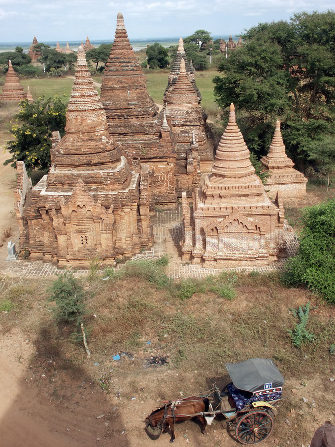 Download Bagan valley stock image. Image of rebuilt, valley, religion - 7460389