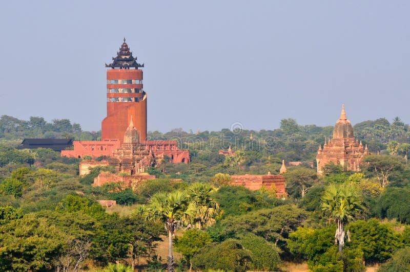 Bagan visningtorn fotografering för bildbyråer