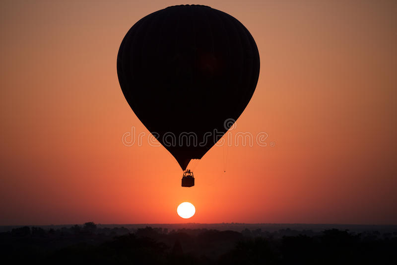 bagan wschód słońca zdjęcia stock