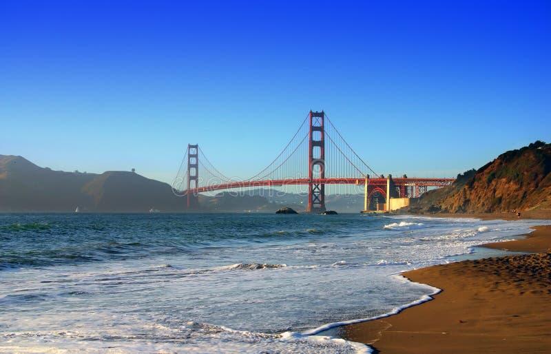 Bagarestrand, San Francisco royaltyfri bild