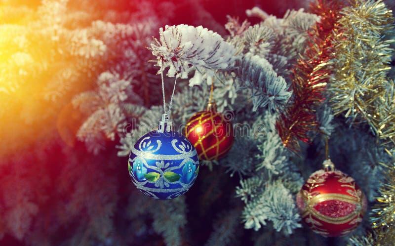 Bagattella luminosa di Natale fotografia stock libera da diritti