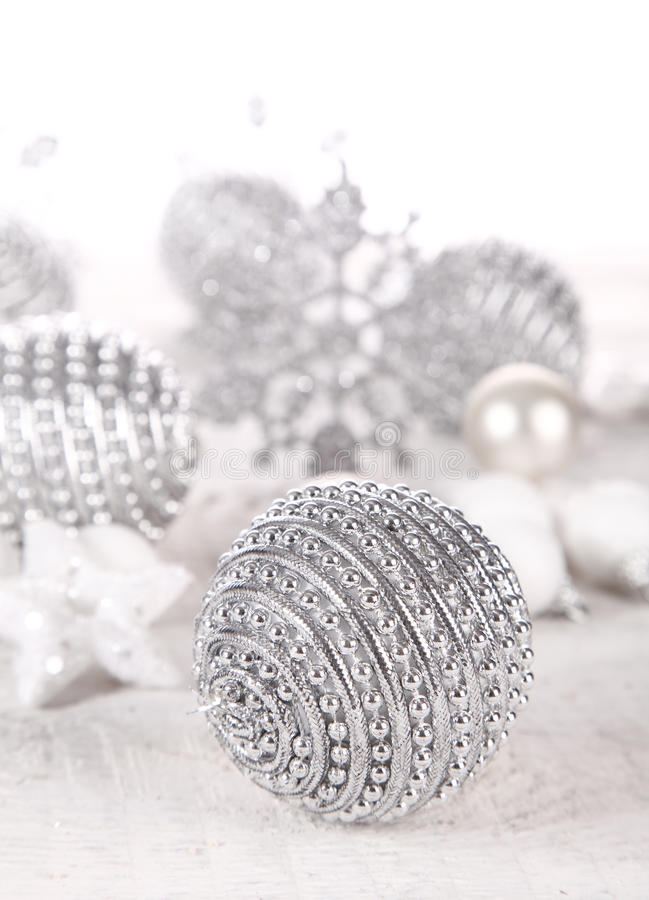 Bagattelle d'argento fotografia stock libera da diritti