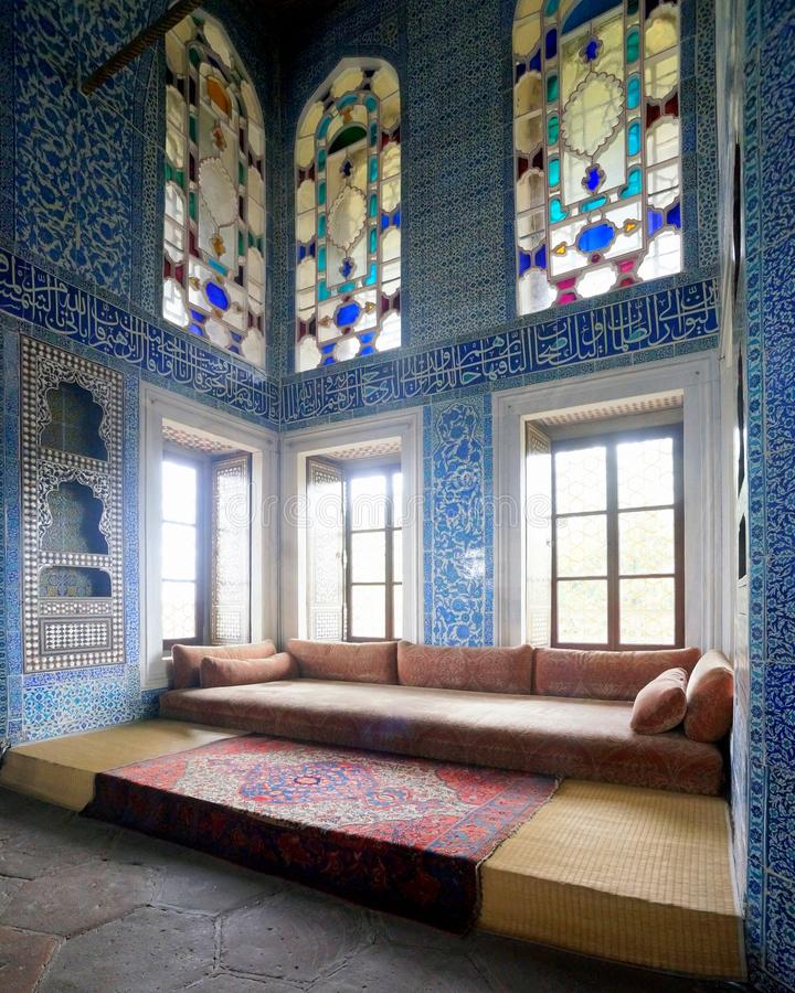 Bagdhad-Pavillon, Topkapi-Palast, Istanbul stockfotos