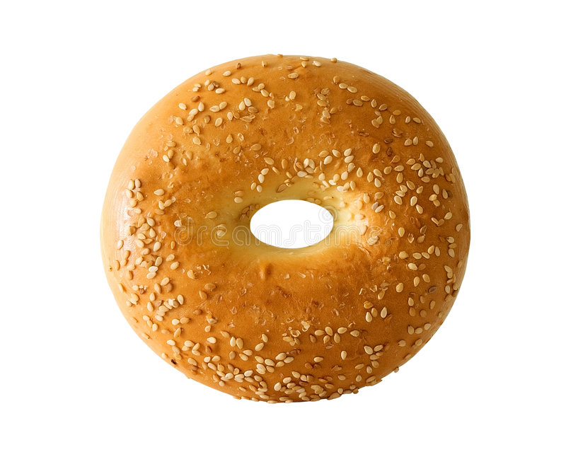 Bagel stockbild
