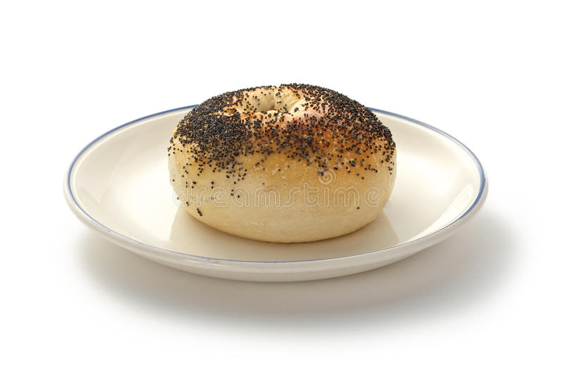 Download Bagel On Plate Stock Photos - Image: 28705213