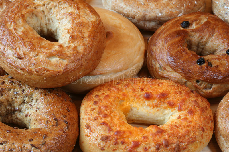 Bagels royalty free stock photo