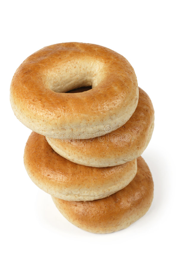 Bagels stock image