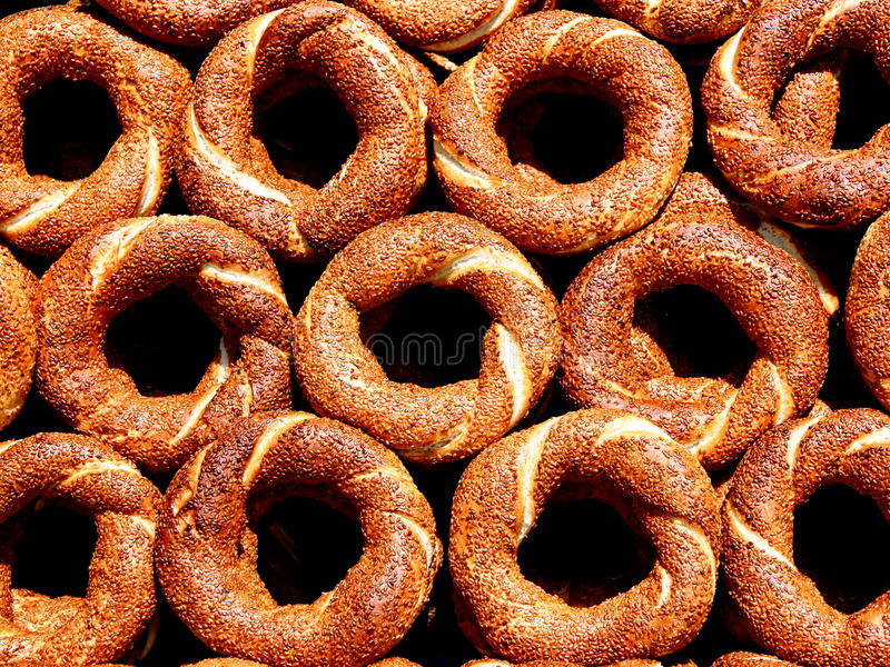 Download Bagels as background stock photo. Image of roll, bakery - 9728810