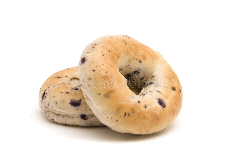 Bagels do mirtilo foto de stock royalty free