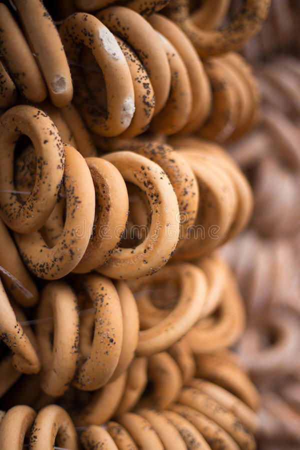 Bagels saborosos do russo imagem de stock royalty free