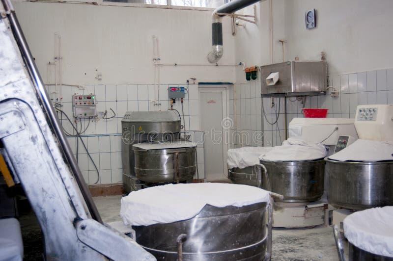 Bagerifabrik arkivbilder