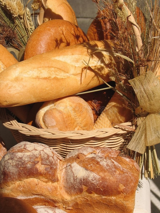 Download Bageriprodukter fotografering för bildbyråer. Bild av guld - 520575