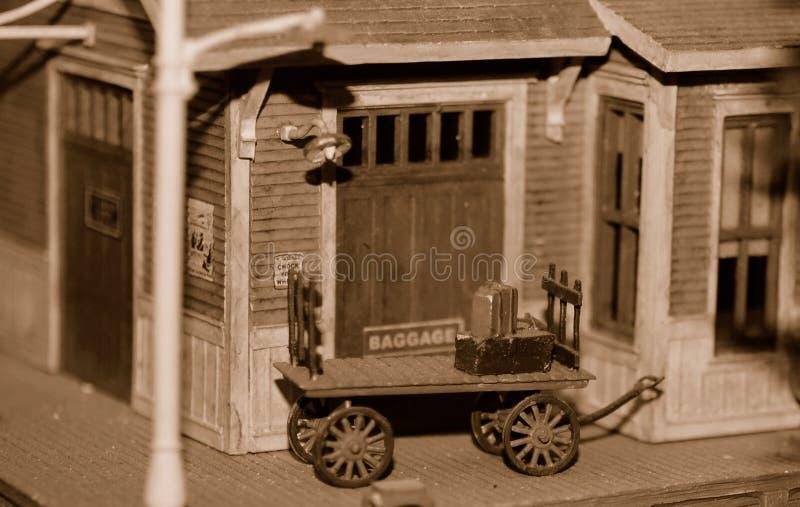 Baggage Car, Miniature stock image