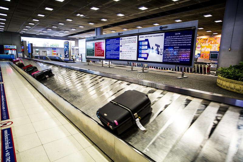 Download Baggage claim editorial stock photo. Image of arrival - 75986478