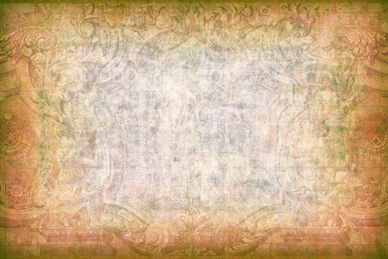 Bagground рамки Grunge стоковые изображения rf