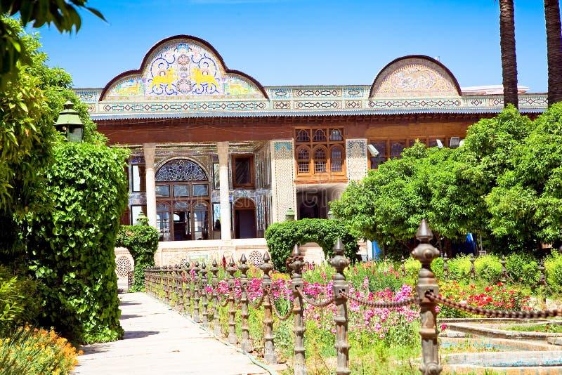 Bagh-e Narenjestan Garten, Shiraz lizenzfreie stockbilder