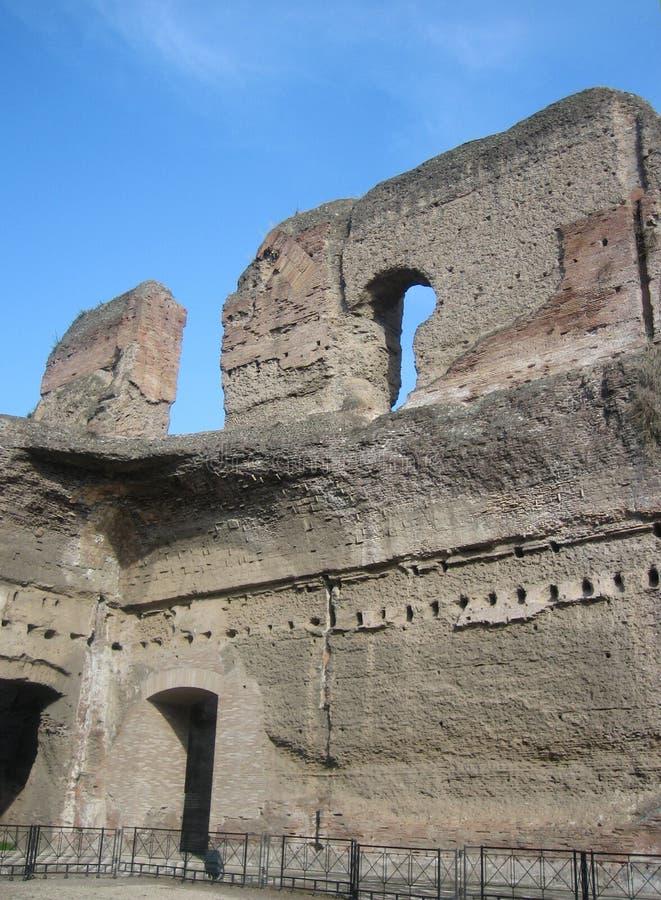 Bagni del Caracalla immagini stock libere da diritti