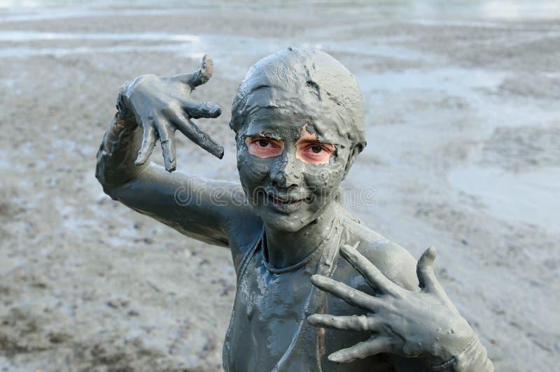 Bagni di fango in Colombia fotografia stock. Immagine di donna ...