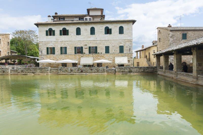 Bagni Vignone editorial stock image. Image of baths - 108516309