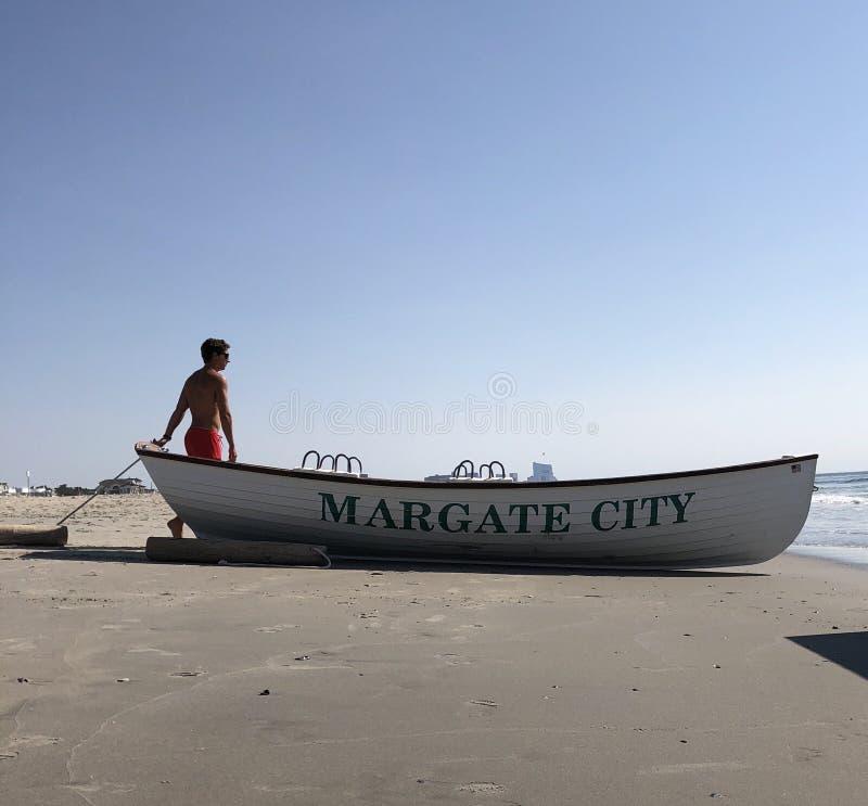 Bagnino Opens la spiaggia immagini stock libere da diritti