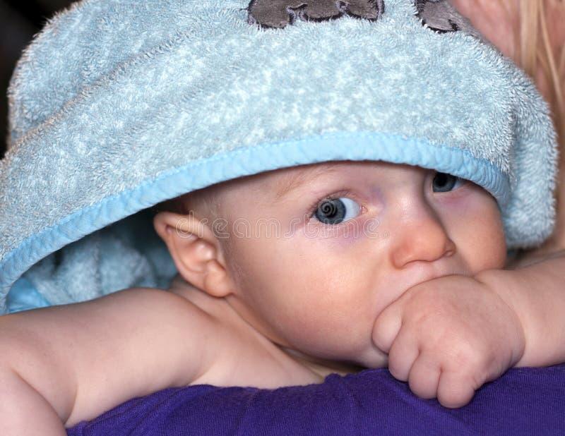 Bagno del bambino fotografie stock libere da diritti