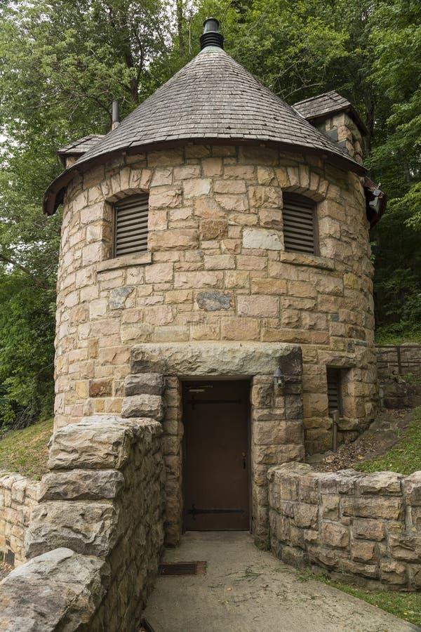 Bagno del castello immagini stock libere da diritti