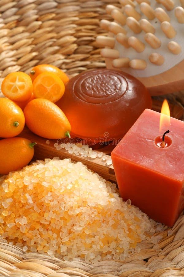 Bagno del kumquat immagine stock libera da diritti