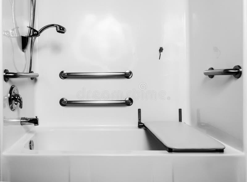 Bagno di handicap immagine stock
