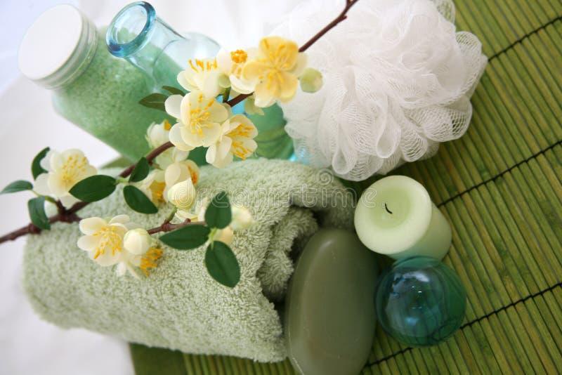 Bagno di zen - ritirata della stazione termale immagine stock libera da diritti