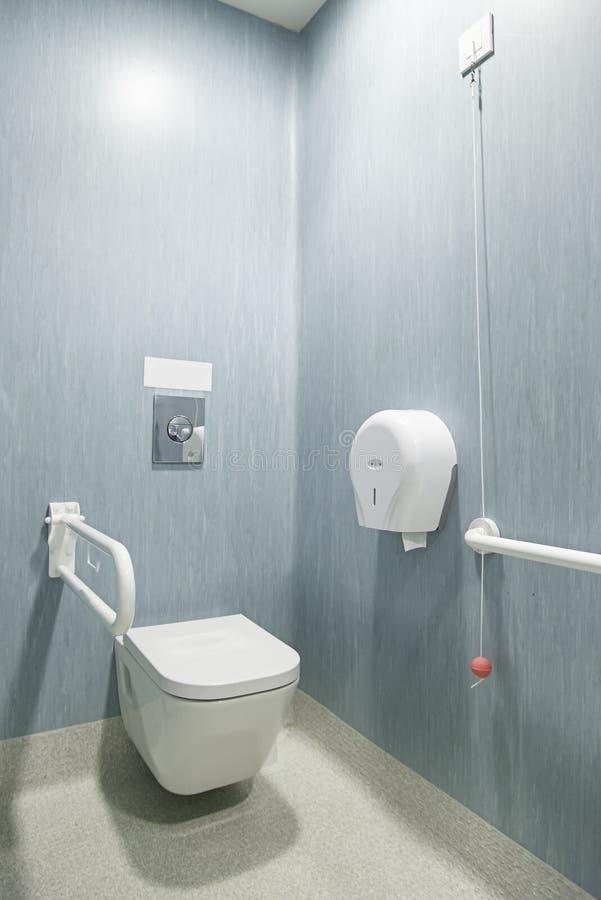 Bagno disabile fotografia stock