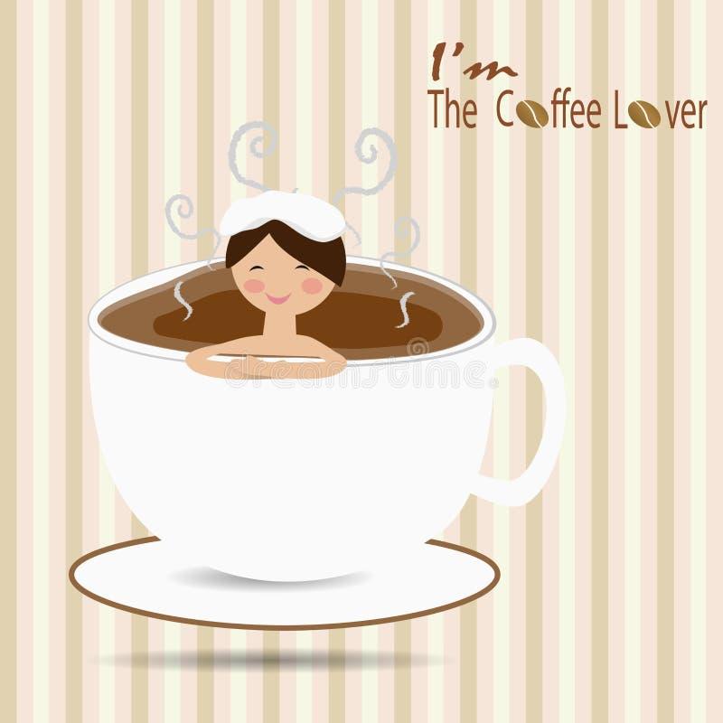 Bagno femminile in una tazza di caff come un onsen for Tazza bagno