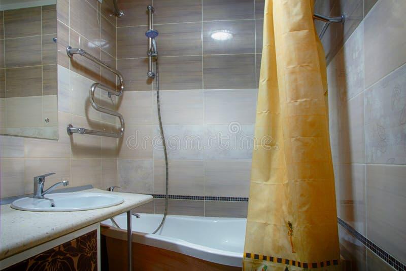 Bagno interno immagini stock