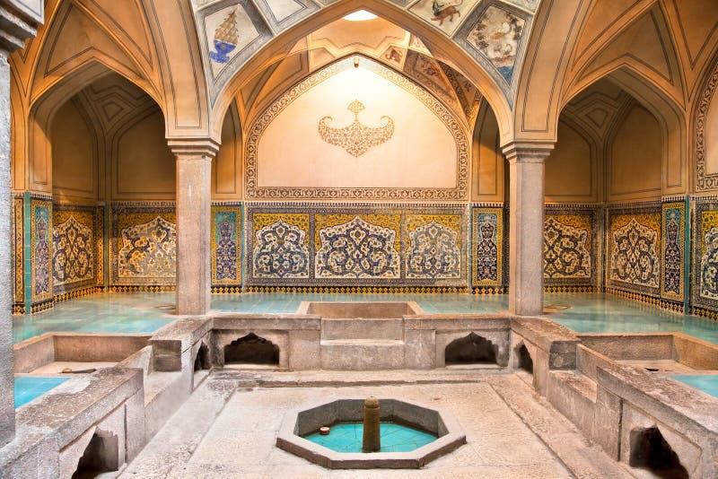 Bagno storico di Hammam-e Ali Gholi Agha immagini stock