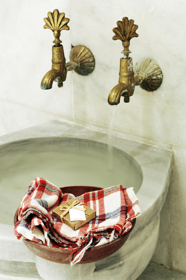 Bagno turco fotografia stock