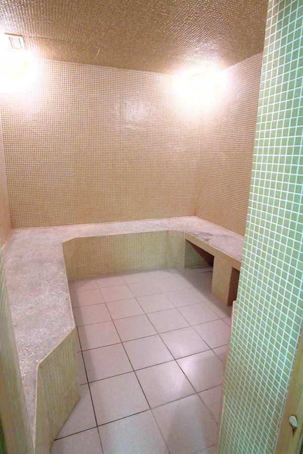 Bagno turco in hotel fotografie stock libere da diritti