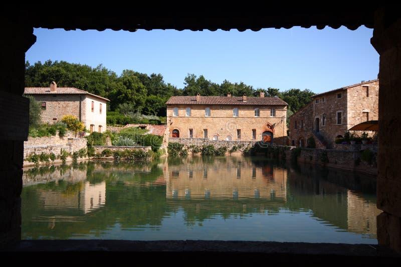 Bagno vignoni stockfoto bild von reflexionen italien - Bagno vignoni b b ...