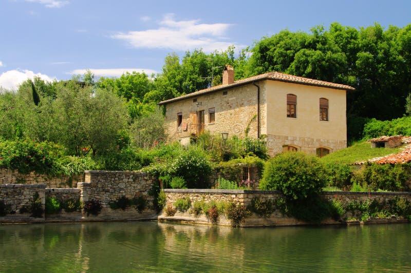 Bagno vignoni arkivfoto bild av antikviteten tuscany - Bagno vignoni b b ...