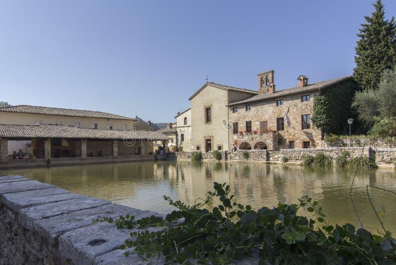 Bagno Vignoni stock photo